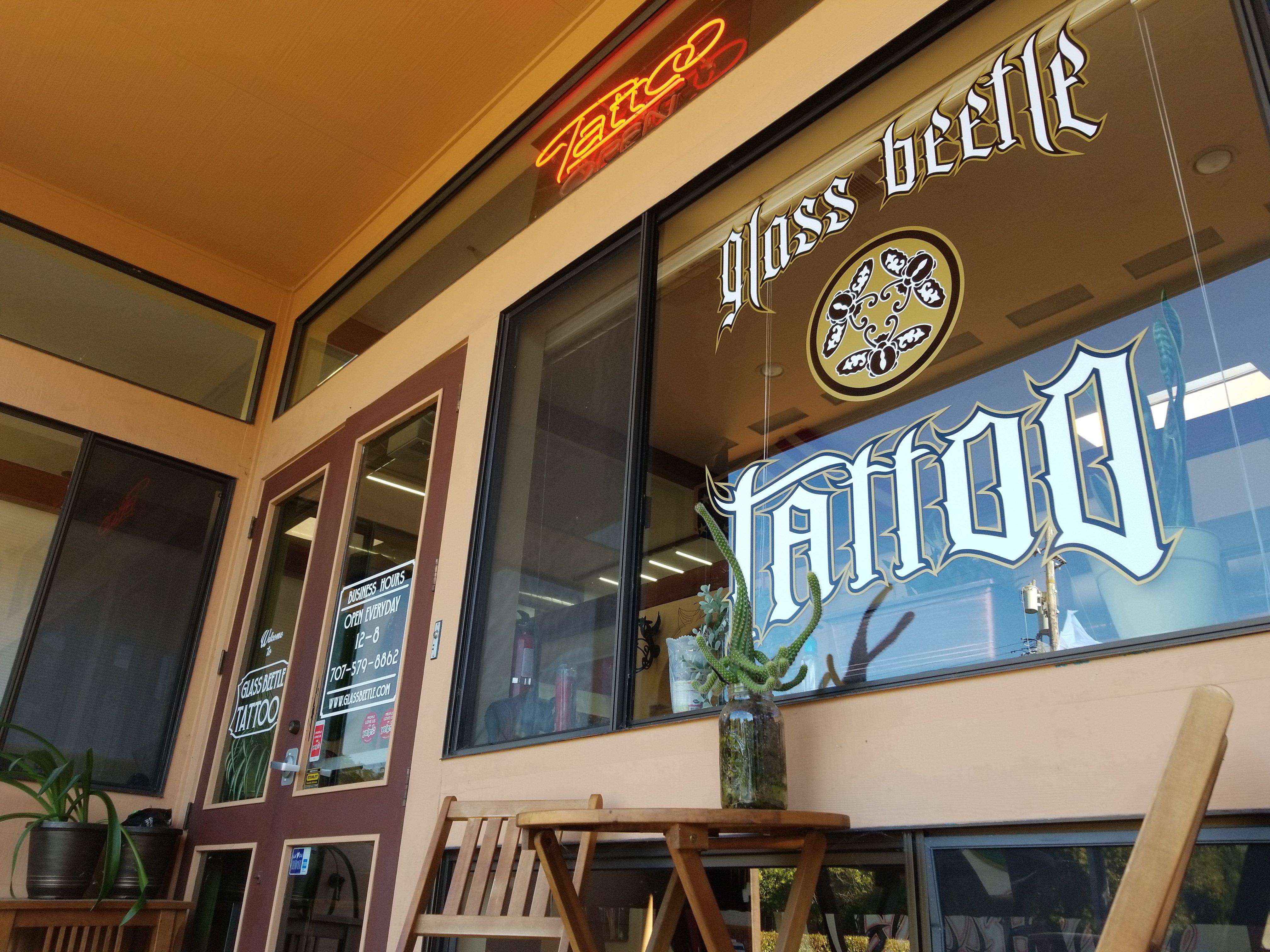 Glass Beetle Tattoo Shop Santa Rosa, CA